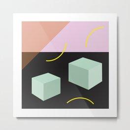 Element: Square Metal Print