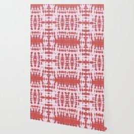 Kumo Shibori Coral Wallpaper