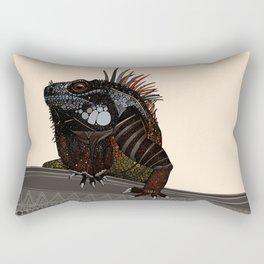 iguana ecru Rectangular Pillow