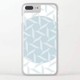 pattern circle Clear iPhone Case