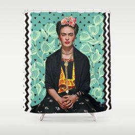 Lovely Frida Shower Curtain