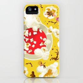 Popcorn princesses iPhone Case