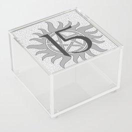 SPN Print (Grey) Acrylic Box