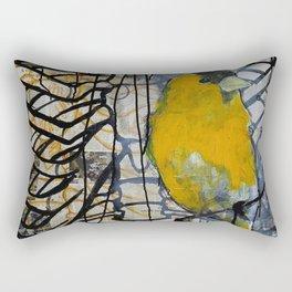 gold finch Rectangular Pillow
