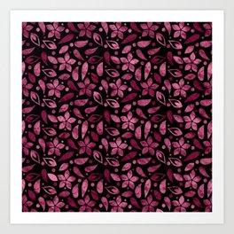 Floral #7 Art Print