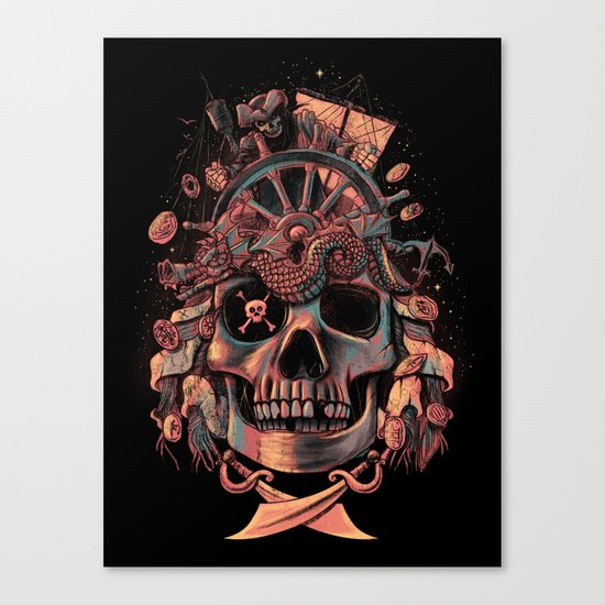 Dead Pirate's Gold Canvas Print