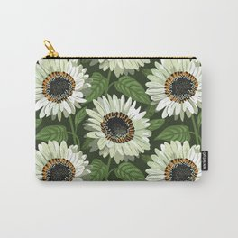 Venidium Zulu Warrior Flowers (White Monarch of The Veldt) Carry-All Pouch