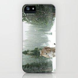 Leopard persian iPhone Case