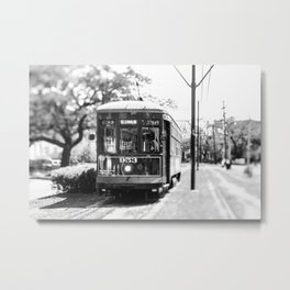 New Orleans St. Charles Streetcar Metal Print