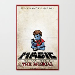 Magic The Gathering The Musical Canvas Print
