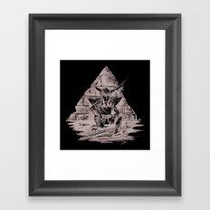 Link Quick Stop Framed Art Print