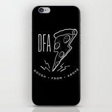 DFA Black iPhone & iPod Skin