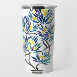 Bonsai Fruit Tree – Lemons Travel Mug