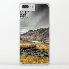 Peris Lake Snowdonia Clear iPhone Case