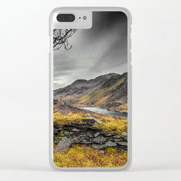 Peris Lake Snowdonia Clear iPhone Case