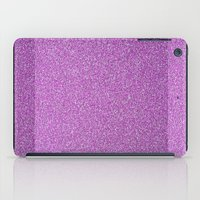 glitter iPad Cases featuring Glitter by mailboxdisco