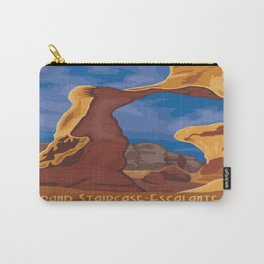 Vintage poster - Grand Staircase-Escalante Carry-All Pouch