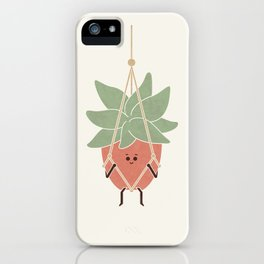 Hang In There iPhone Case