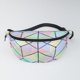 Colorful geometric polygonal pattern. Fanny Pack