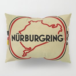 Nürburgring, the Green Hell Pillow Sham
