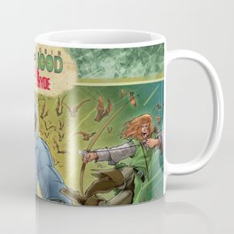 DRACULA VS. ROBIN HOOD VS. JEKYLL & HYDE! Coffee Mug