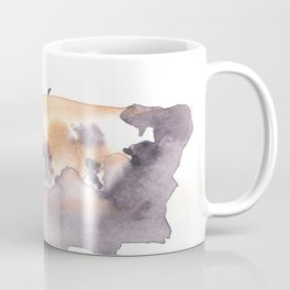 Soft Texture Watercolor | [Grief] Patches of Existence Coffee Mug