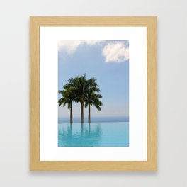 Hawaiian Oasis Framed Art Print