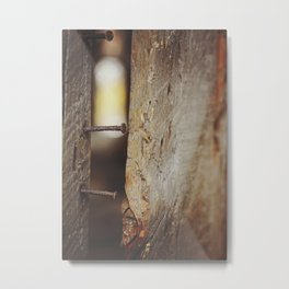 Autumn Barn 4 Metal Print