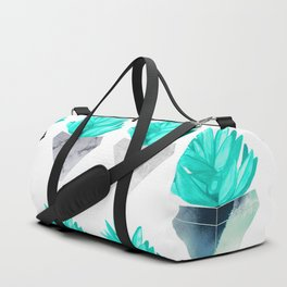 Assorted Succulents Duffle Bag