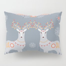 Nordic Winter Pillow Sham