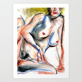 Dirty Blond Art Print