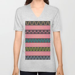 Wavy The Nine Unisex V-Neck