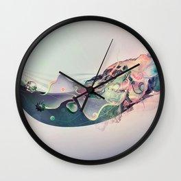 Organic Panic Wall Clock