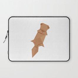 Origami Sea Otter Laptop Sleeve