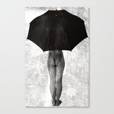 it can not rain all Canvas Print