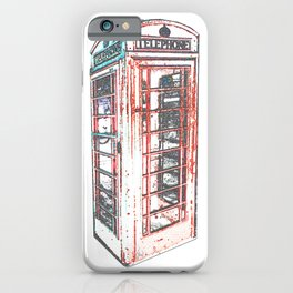 Calling from London iPhone Case