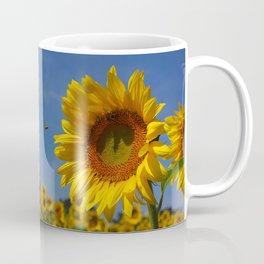 Sunny Summer Sunflower Coffee Mug