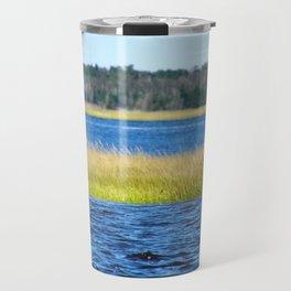 Bay Grasses Travel Mug