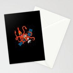 Squid vs Satellite Stationery Cards