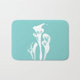 Calla Lily - Aqua Bath Mat
