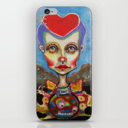 hearthead iPhone Skin