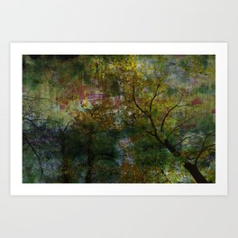 Crazy Forest II Art Print