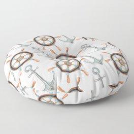 Nautical #1 Floor Pillow