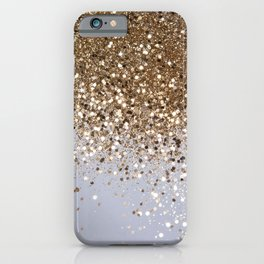 Sparkling Champagne Gold Glitter Glam #1 #shiny #decor #art #society6 iPhone Case