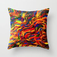 discount Throw Pillows featuring discount sand by Lea - Lu
