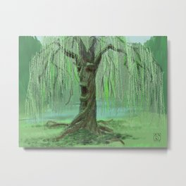 Old Man Willow Metal Print