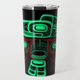 Native American style Tlingit Thunderbird Travel Mug