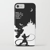 castlevania iPhone & iPod Cases featuring Castlevania by Darth Paul