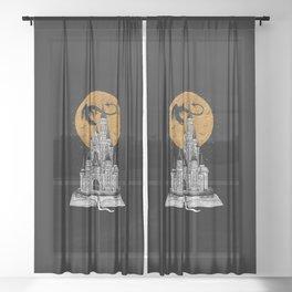 Fairytale Book Sheer Curtain