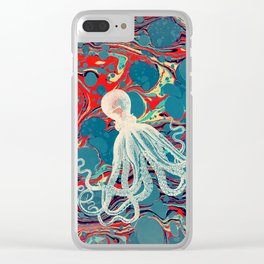 Octopus Clear iPhone Case